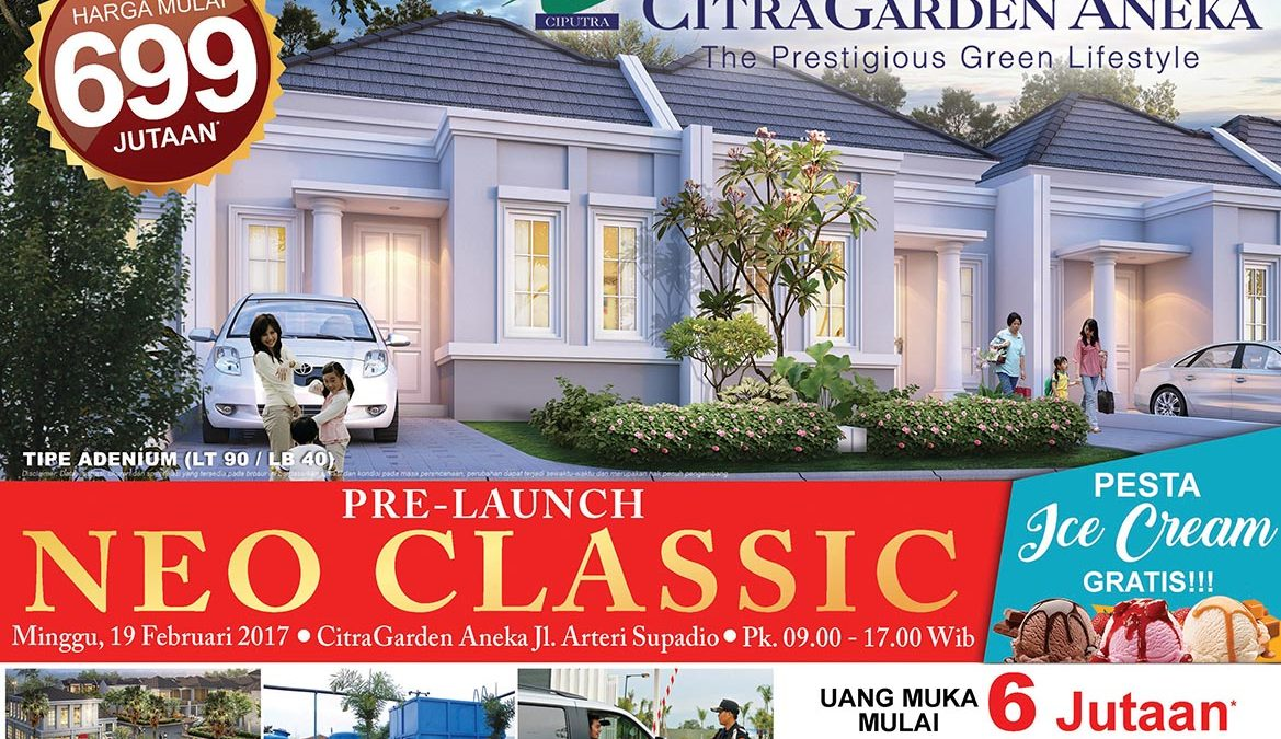 Pre-Launch New Cluster Neo Classic