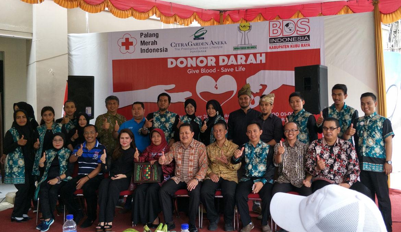 Kemeriahan Donor Darah – Give Blood Save Life