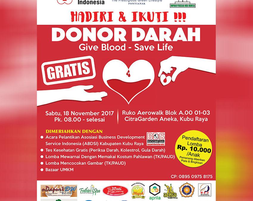 Hadiri & Ikuti Donor Darah – Save Blood Save Life