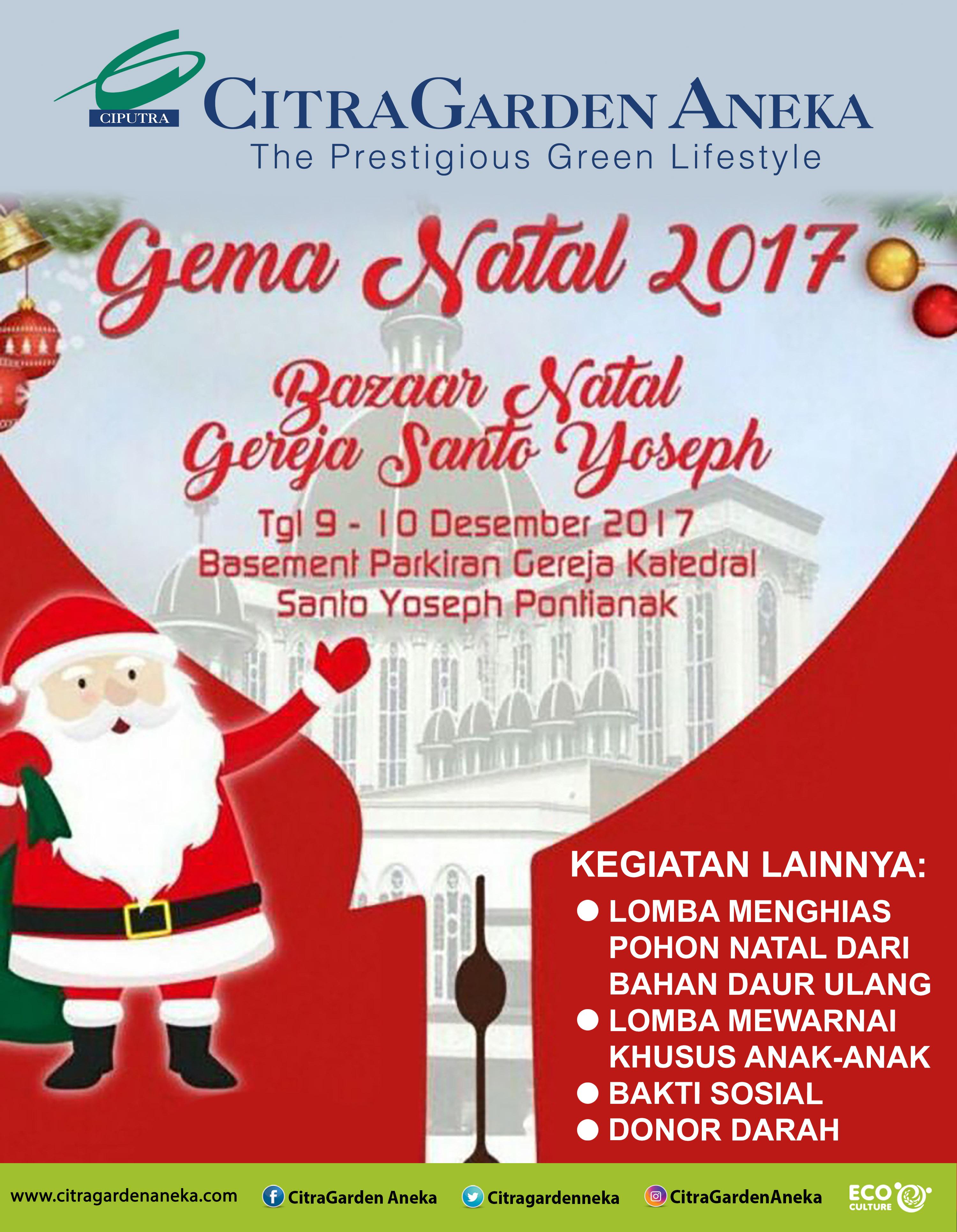 Gema Natal 2017 - Bazaar Natal