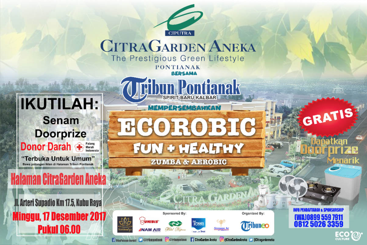 Ecorobic Fun & Healthy CitraGarden Aneka
