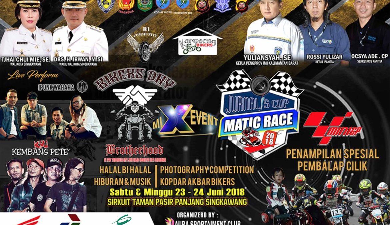 CitraGarden Aneka Mendukung Penuh Jurnalis Cup Matic Race 2018