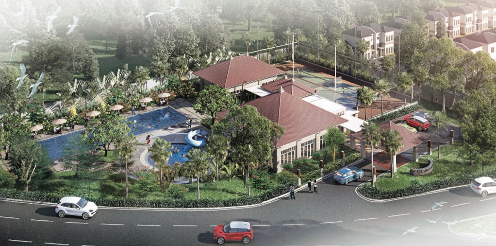 Club House The Prestigious Green Lifestyle Development