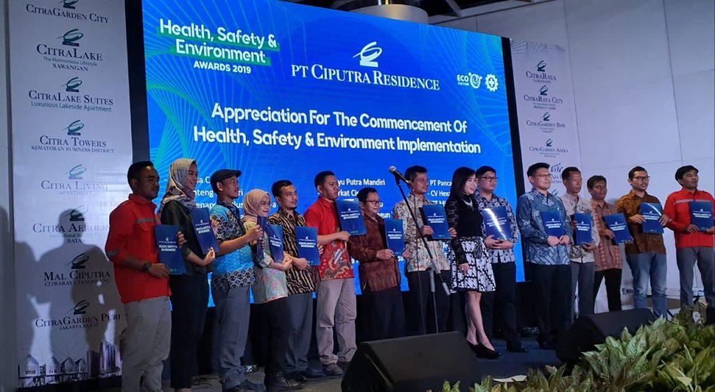 "PT Ciputra Residence Health, Safety & Environment Awards 2019"", Ciputra Artpreneur, Ciputra World 1 Jakarta"