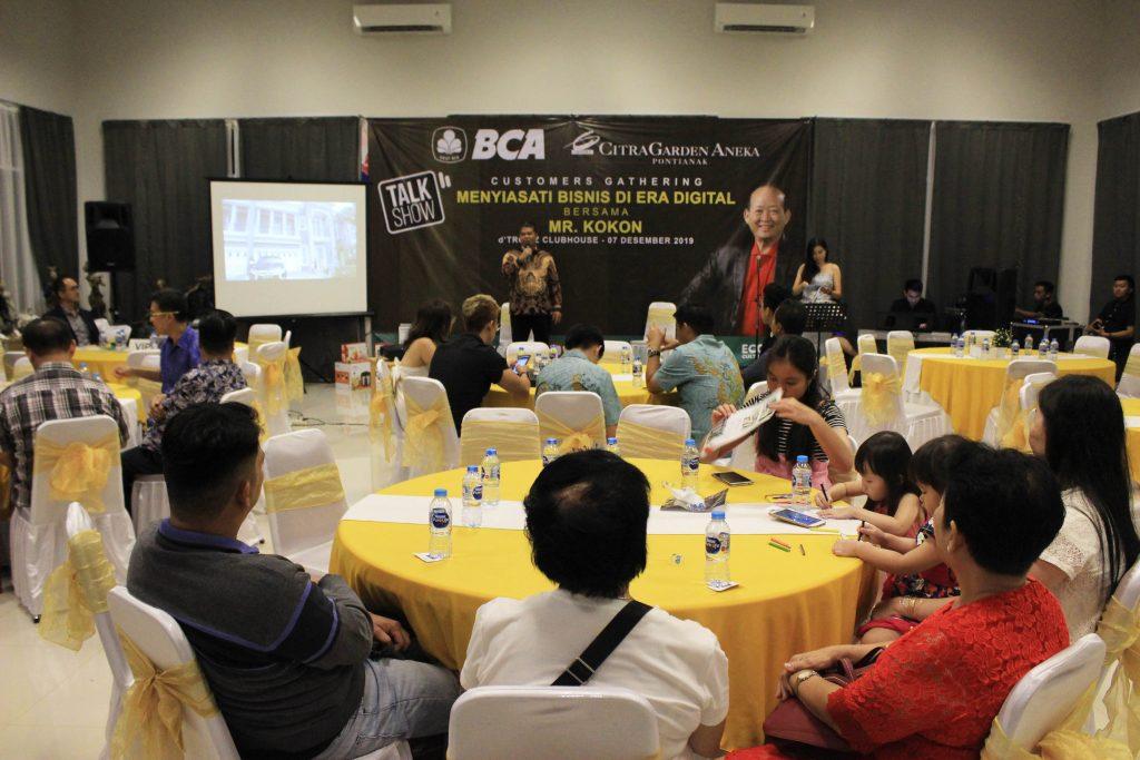 CitraGarden Aneka bersama Bank BCA Sukses Gelar Menyiasati Bisnis di Era Digital