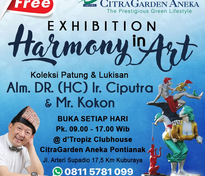 Pameran Harmony in Living & Art CitraGarden Aneka