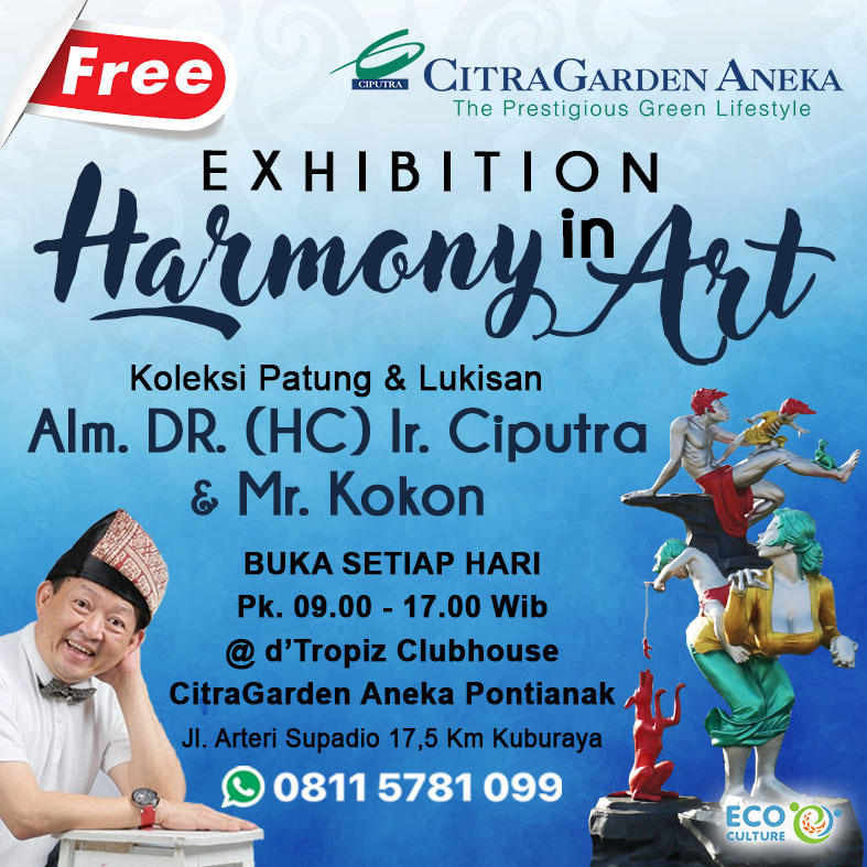Pameran Harmony in Living & Art CitraGarden Aneka